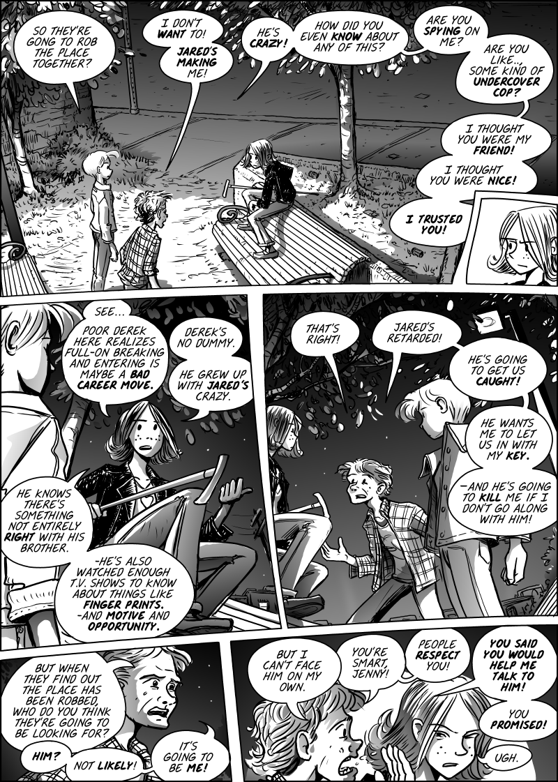 Jenny Mysterious Chapter#5 Page#146