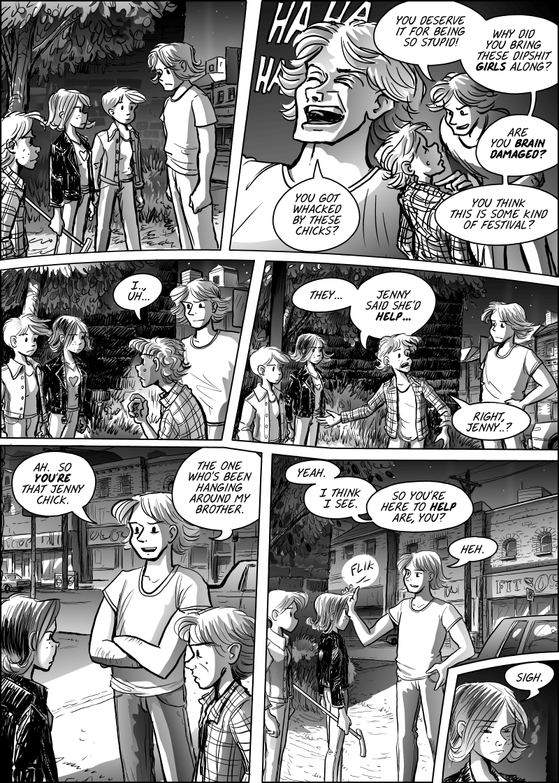 Jenny Mysterious Chapter#7 Page#158