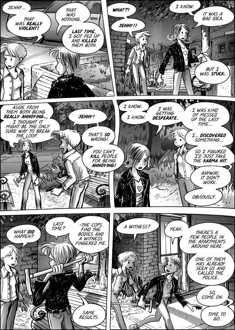 Jenny Mysterious Chapter#7 Page#161