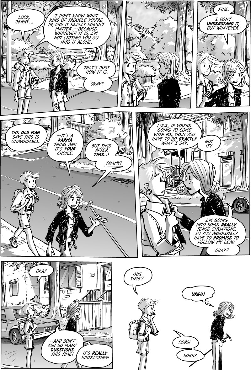 Jenny Mysterious Chapter#1 Page#25