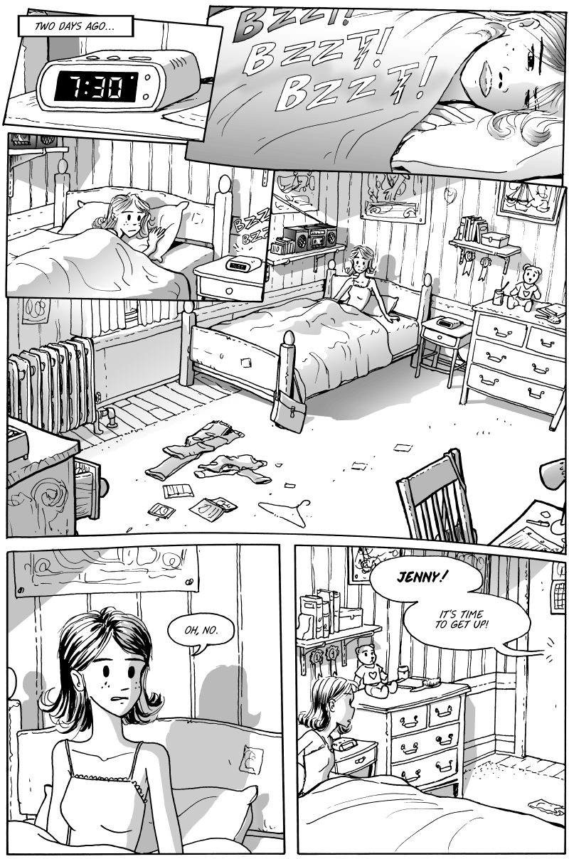 Jenny Mysterious Chapter#1 Page#8